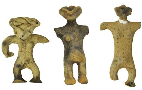 土偶 縄文時代後期 約3,500年前 大文字遺跡