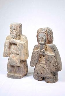 木造 二神立像